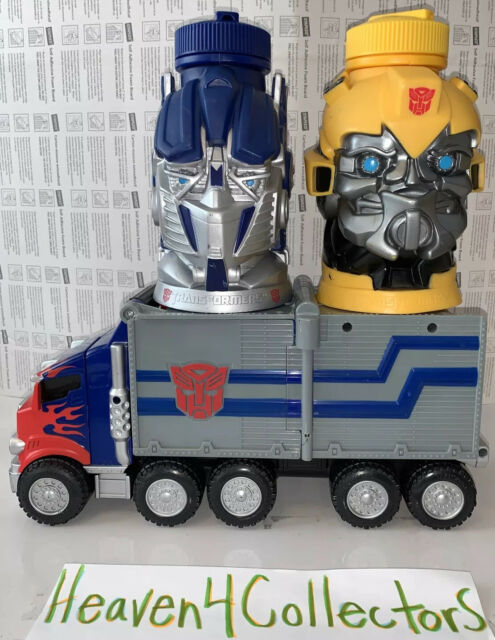 Transformers Lot Official 2006 - 2012 Optimus Prime Bumble Bee Nerf Gun Truck