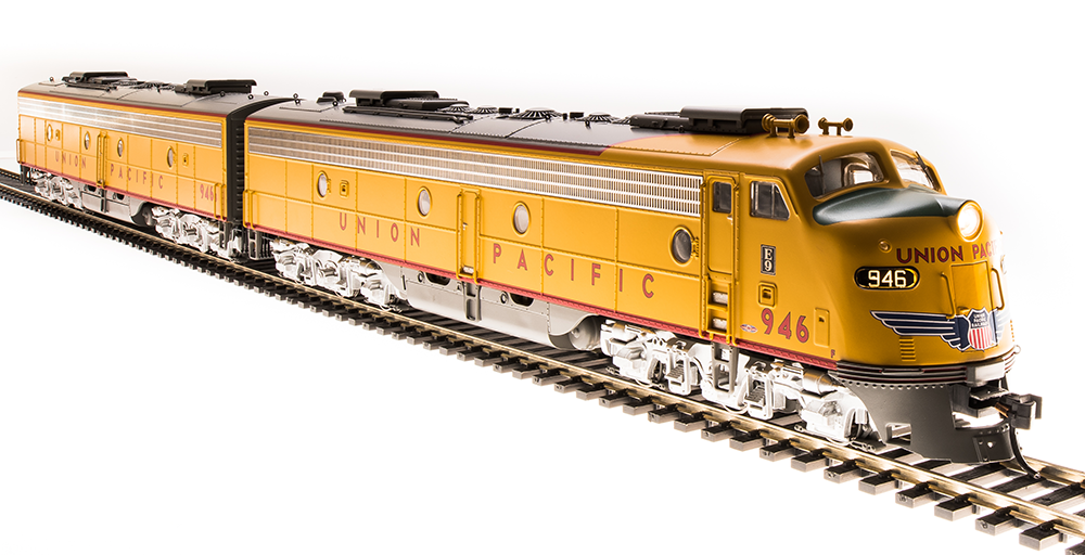 Broadway Limited 5439 Union Pacific EMD E9 AB Diesel Engine Set HO Scale Trains