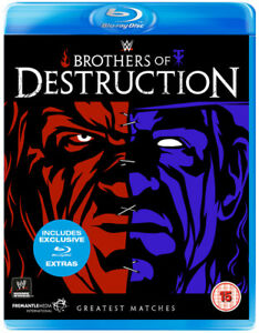 WWE-Brothers-of-Destruction-Blu-Ray-2014-Kane-cert-15-NEW-Amazing-Value