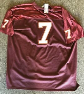 detailed look 30fb9 c4854 Details about MIKE VICK VIRGINIA TECHCOLLEGIATE CLASSIC NCAA FOOTBALL  VINTAGE THROWBACK JERSEY