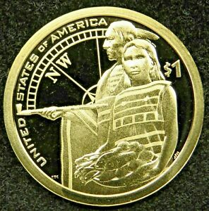 Details about  /2014 S  NATIVE AMERICAN SACAGAWEA  PROOF DEEP CAMEO DOLLAR  ITEM #35R