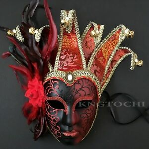 Luxury-Women-Ball-Prom-Masquerade-Halloween-Feather-Mask