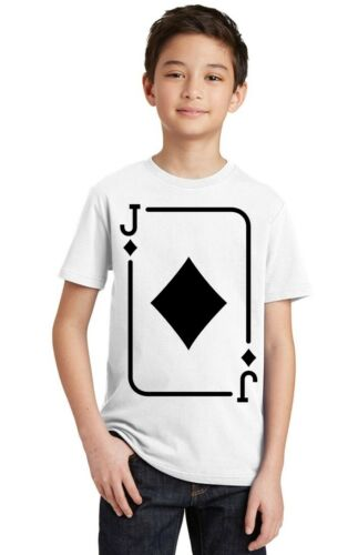 Deck of Cards Funny Team Costume Youth T-shirt Party Tee