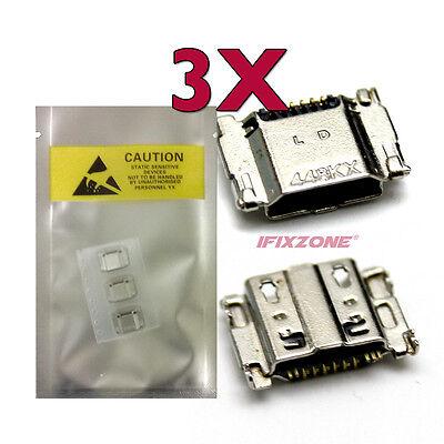3 X New Micro USB Charging Port Samsung Galaxy Tab S2 9.7 T817A T817R4 T817P USA