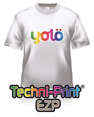 100x A3 Techni-Print® EZP Photo-Quality Laser Heat Transfer Paper for Lights