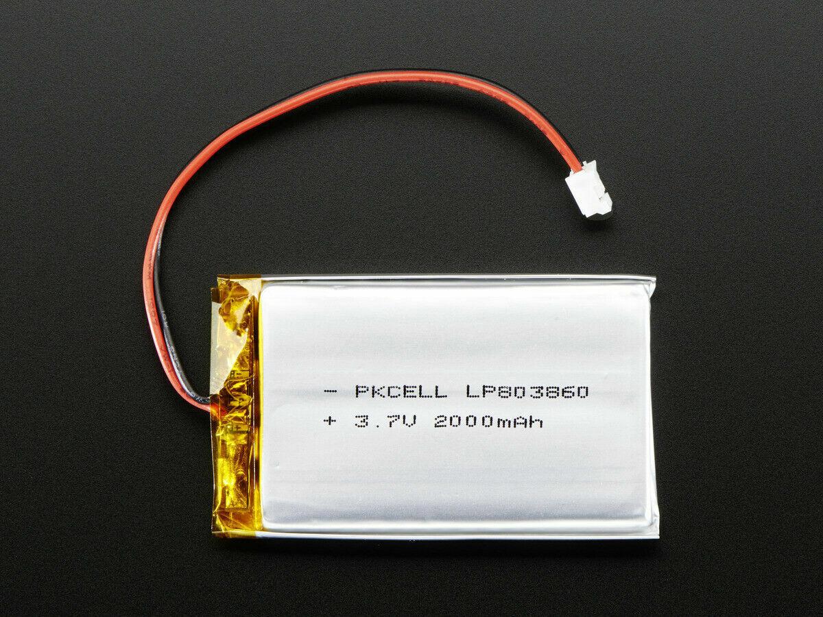 [3DMakerworld] Adafruit Lithium Ion Battery - 3.7v 2000mAh