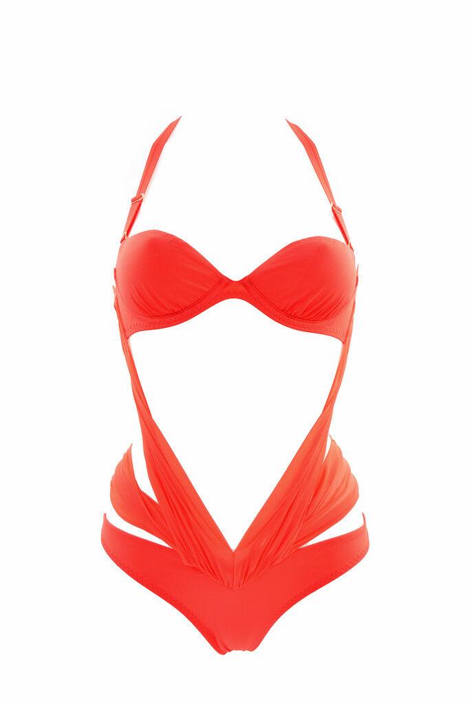 Agent Provocateur Women's One Piece Swimsuit orange B RRP  BCF87