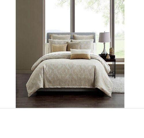 Highlline Bedding Co Samara King Cal King comforter bedding set neutral textured