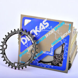 DECKAS-MTB-104BCD-Round-Oval-Narrow-Wide-Chainring-32-34-36-38T-1X-System-8-11s