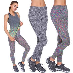88c239473280e Image is loading Womens-Full-Length-Gym-Leggings-Seamless-Stretch-Yoga-