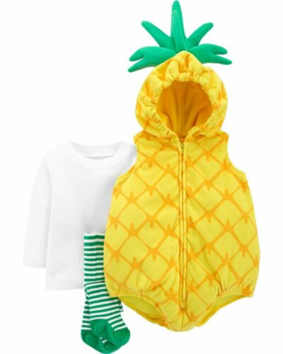 NWT Carter/'s Baby Pineapple Halloween Costume 3 6 9 12 18 24 M Months Infant