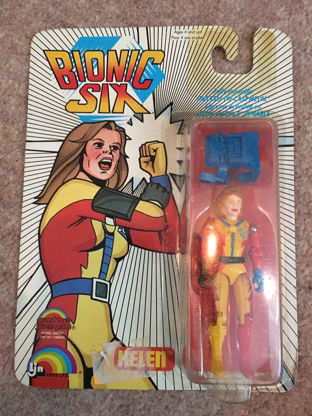 Bionic seis Ljn Juguetes Ltd. Helen Vintage Figura 1986