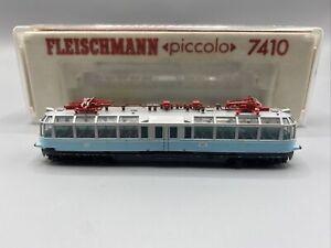 Modelleisenbahn Fleischmann N 7410 E-Aussichtstriebwagen BR 491 001-4 DB Defekt