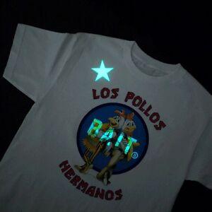fa7ac6df BAIT x Breaking Bad Men Los Pollos Hermanos Tee - Glow In The Dark ...