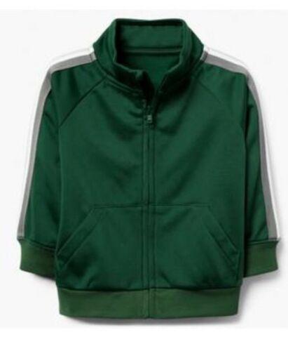 Gymboree Baby Boys Zip Up Warm Up Sweatshirt Green NWT!