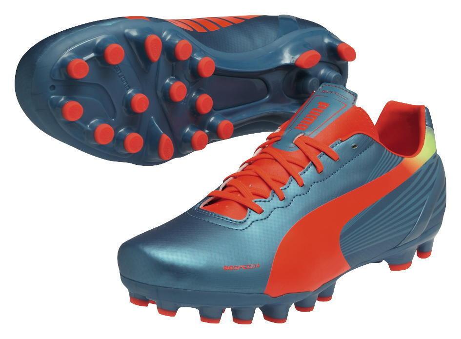 PUMA Evospeed 4.2 AG 102870 03 Taglia 42 scarpette da calcio calcio da 5dfb5e