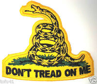 ***DON'T TREAD ON ME***..Anti Obama  Biker  Pro Gun Patch P3111 E