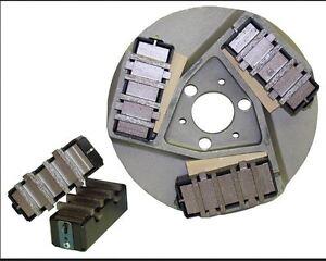 Edco Floor Grinder Kit Dyma Serts Cases Wedges
