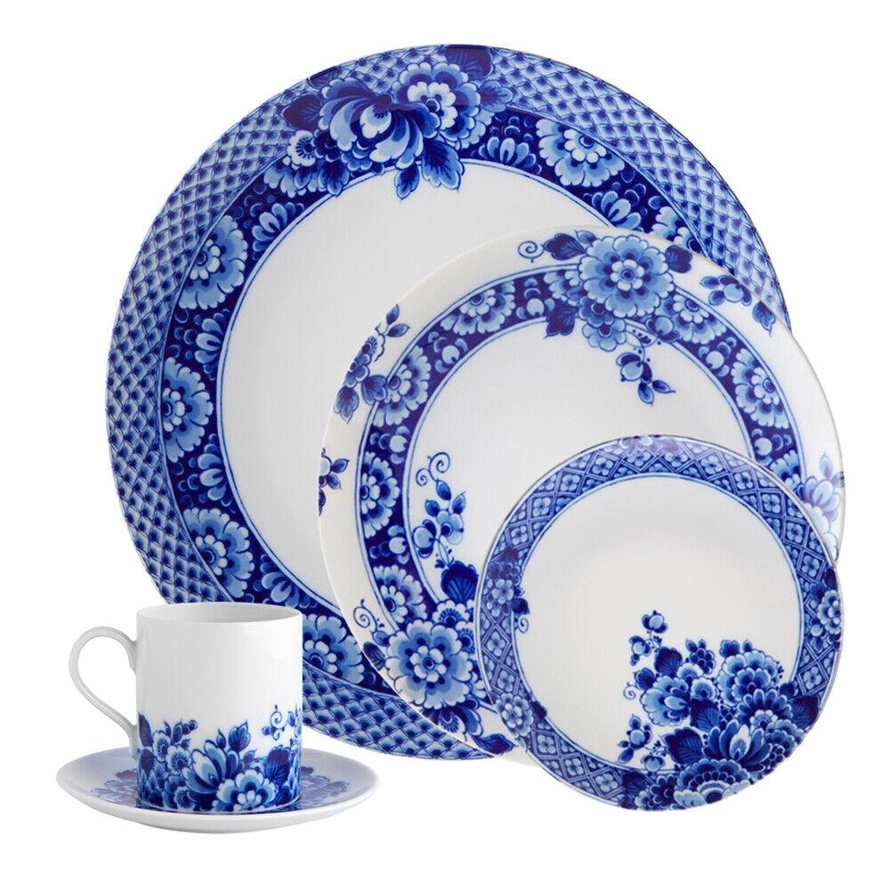 Vista Alegre Porcelain Azul Ming 20 piezas Juego de vajilla