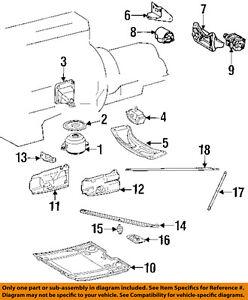 Mercedes MERCEDES-BENZ OEM SL500-Engine Motor Mount Torque Strut ...