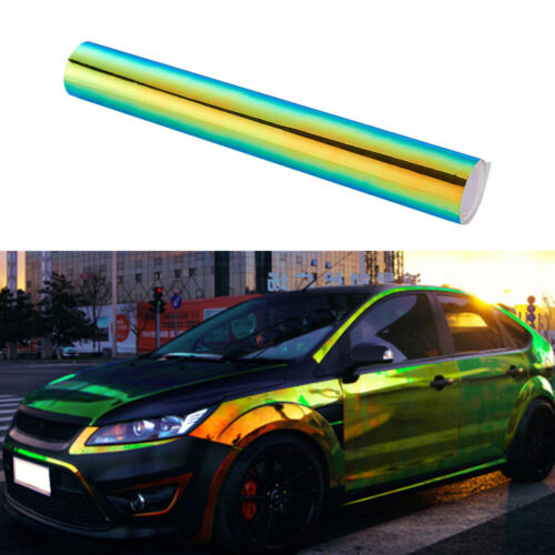 Glossy Colorful DIY Car Body Films Vinyl Car Wrap Sticker Decal Air Release Film