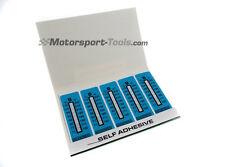 Racetech Motorsport Temperature Test Strip Sticker 71-110c Pack of 10