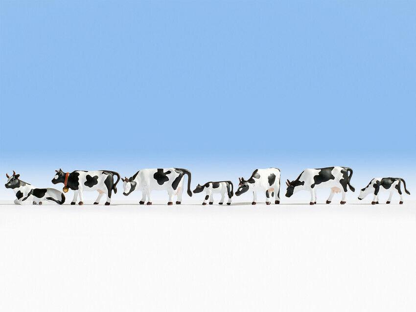 H0 escala 1:87 figuras modelismo ferroviario maqueta trenes Noch 15721 vacas