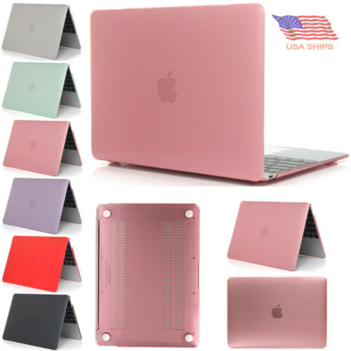 Rubberized Hard Case Cover for MacBook 12 inch Retina A1534 //Air 11 inch A1465