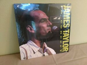 JAMES-TAYLOR-Laserdisc-Live-1988-Boston-Concert-LD
