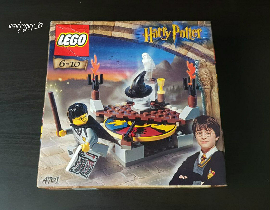 Lego Harry Potter 4701 - Sorting Hat. NEW SEALED