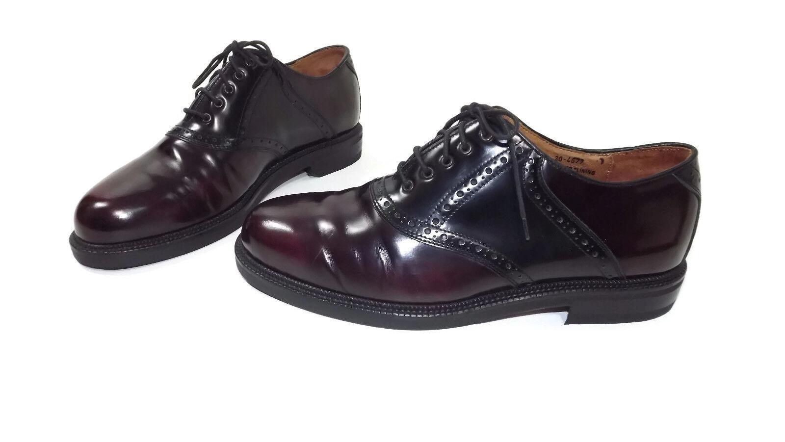 JOHNSTON & MURPHY Passport Mens shoes Size 9 M Black Brown Oxfords MD   145