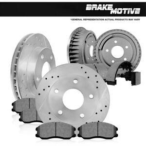 Shoes For Blazer K1500 Tahoe GMC Denali Brake Rotors Ceramic Pads /& Drums