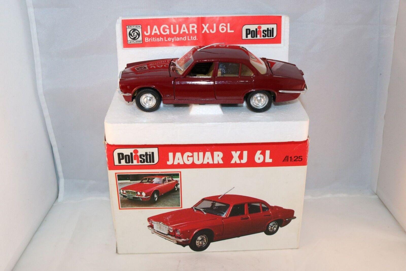 Polistil S31  S.31 Jaguar XJ 6L very near mint in box 1 25 selten Superb a beauty  le plus récent