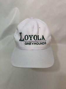 Loyola-Greyhounds-White-Baseball-Hat-Snapback