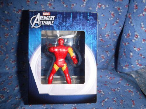 NIP Marvel Avengers  Christmas Ornament  Ironman Captn America Spiderman U Chose