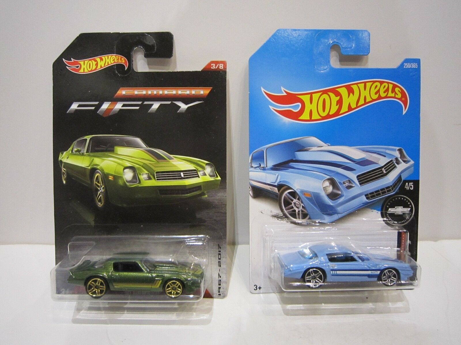 Hot Wheels lot CHEVROLET CAMARO 81 blister US fifty COLLECTOR