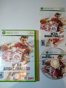 NCAA-Basketball-10-Microsoft-Xbox-360-2010-Complete-Tested-CIB-College-Game