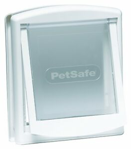 CAT-FLAP-WHITE-Lockable-suitable-for-other-small-animals