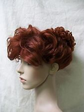 Dark Auburn 50s Housewife Updo Costume Wig I Love Lucy Retro Wilma Flintstone