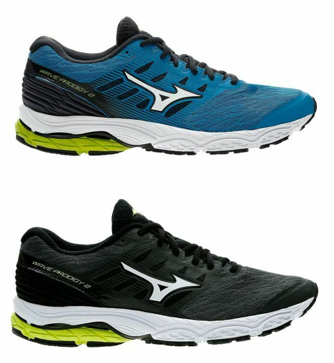 shoes DE COURSE HOMME MIZUNO WAVE PRODIGY 2 RUNNING RESPIRANTE RENFORCÉE