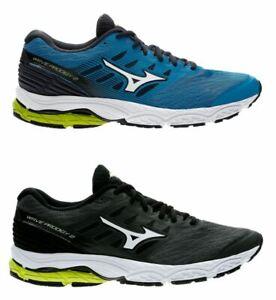 Scarpe-Mizuno-Uomo-Wave-Prodigy-2-Tessuto-da-Corsa-Ammortizzate-Triathlon