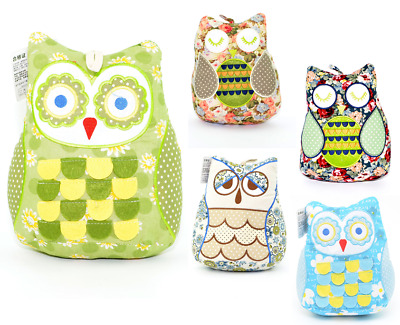 Owl Doorstop Novelty Door Stop Stopper Filled Heavy Fabric Weighted Home Gifts Ebay
