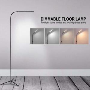 Details About Adjule Tall Floor Lamp Led Table Unique Minimalist Contemporary Light Uk Hot