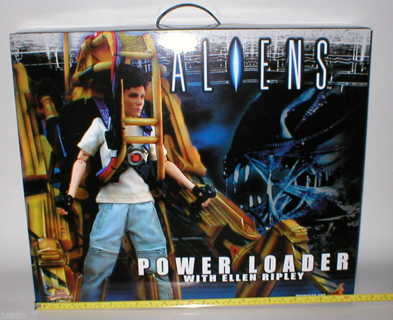 Hot toys aliens alien ripley ellen MINT power loader