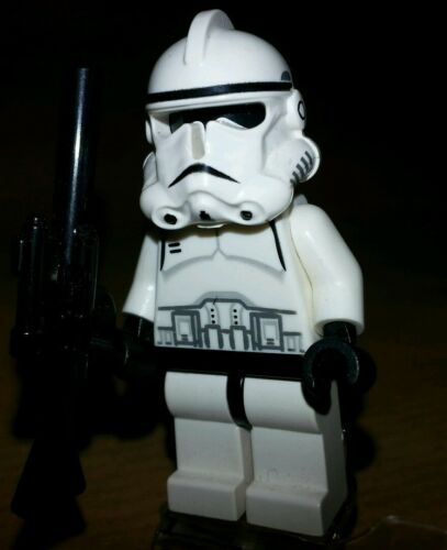 Lego Star Wars Figur Clone Trooper m Waffe  aus 7261 7655 sw126 Epi.3