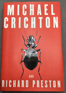 Crichton, Michael &  Richard Preston MICRO A Novel 1st Edition 1st Printing