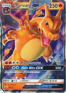 Charizard GX - SM211 - Oversized Promo Near Mint Pokemon Oversized Cards H8Y