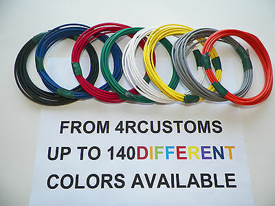 8 AUTOMOTIVE  WIRE 12 GAUGE  GXL WIRE EIGHT COLORS  25/' EACH COLOR CHOICES