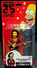 "The Simpsons 25 Greatest Guest Stars JOHN ENTWISTLE Years Figura 5""! nuevo! The Who"