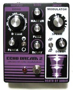 Used Death By Audio Echo Dream 2 Echo Modulation Guitar Effects Pedal